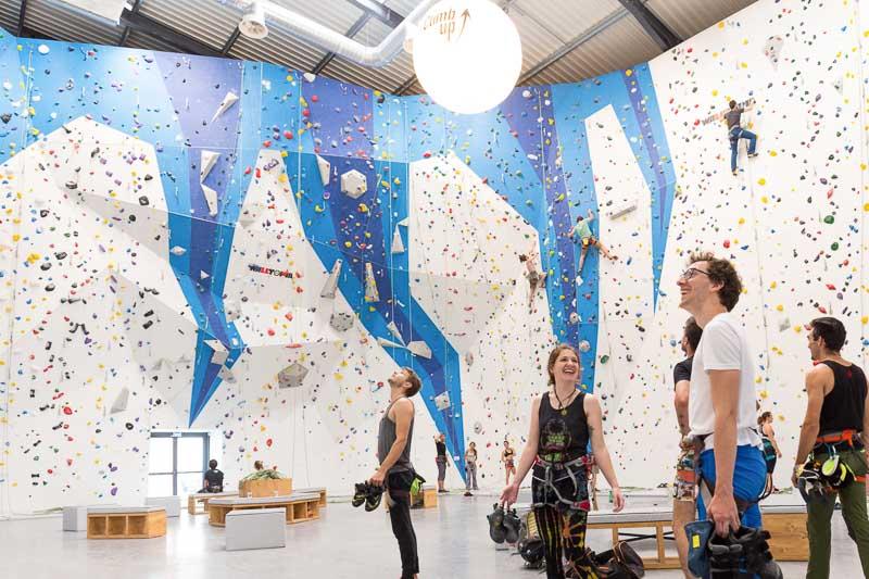 Salle de voie : grimpe à Bordeaux : Climb Up
