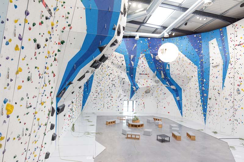 Salle d'escalade voie Climb Up Bordeaux Mérignac